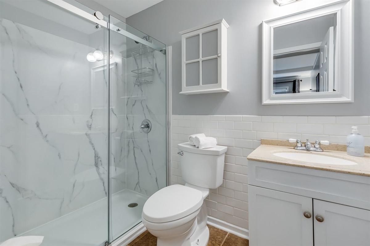 Bathroom off Bedroom 1