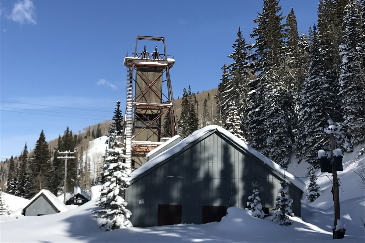 Park City's mining history is all around