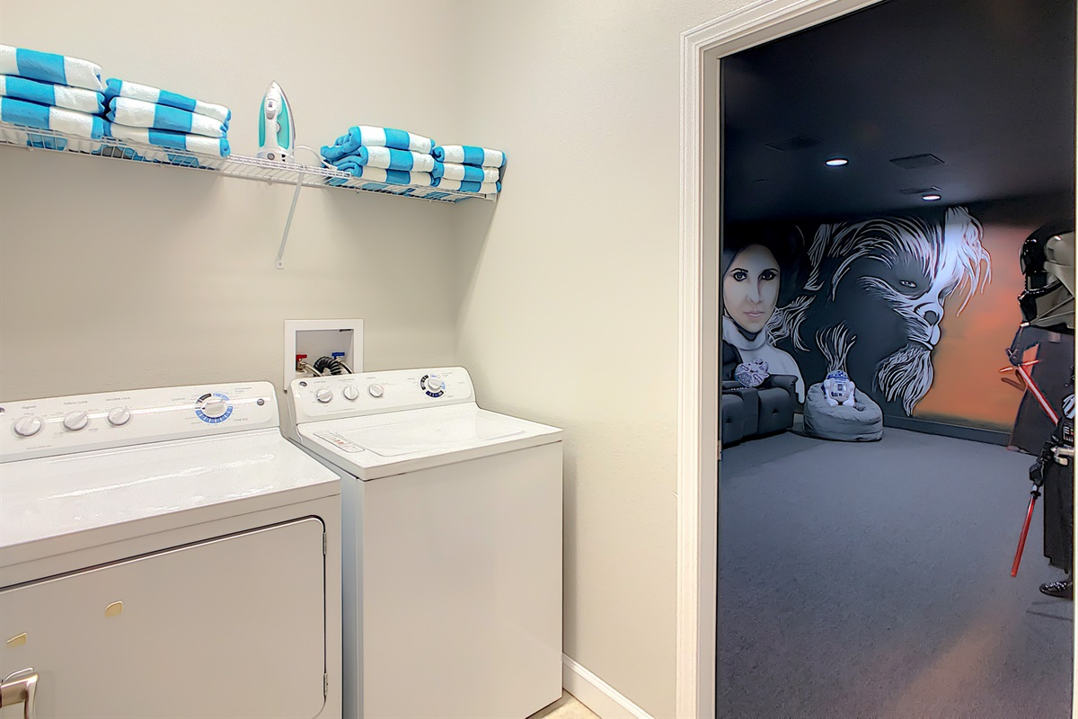 Laundry Room - Free To Use