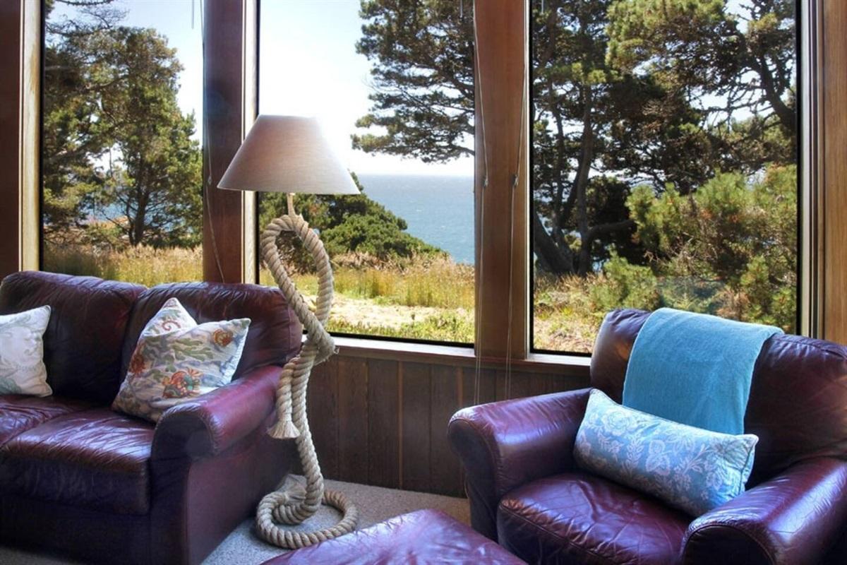 Ocean Bluff Serenity Living Room to Ocean View