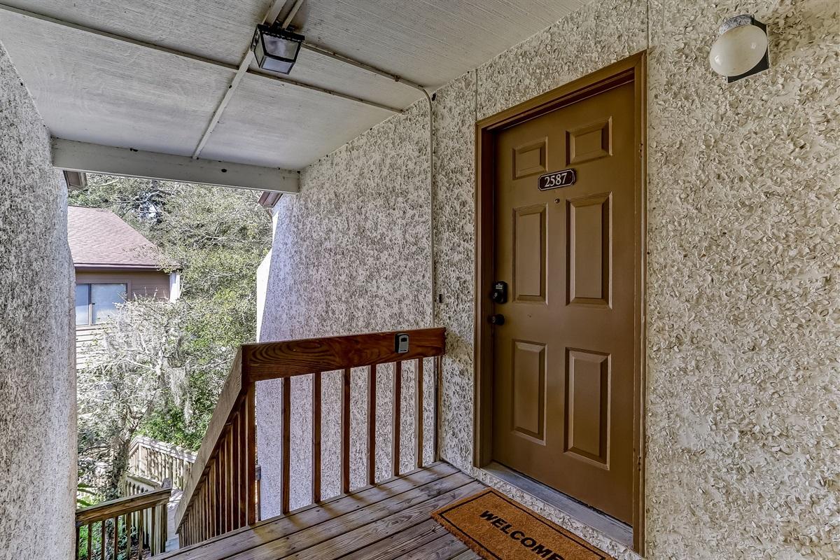 Upstairs Unit - Your Door