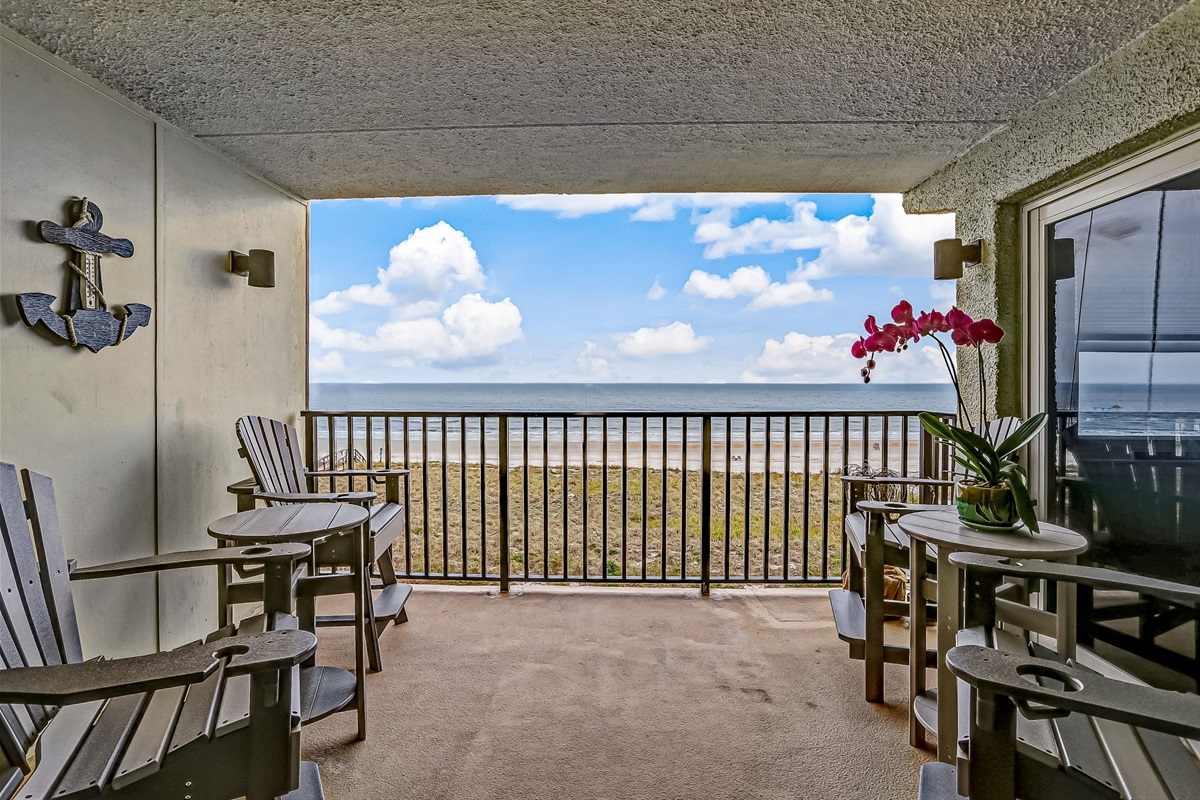 Your spacious Private Balcony