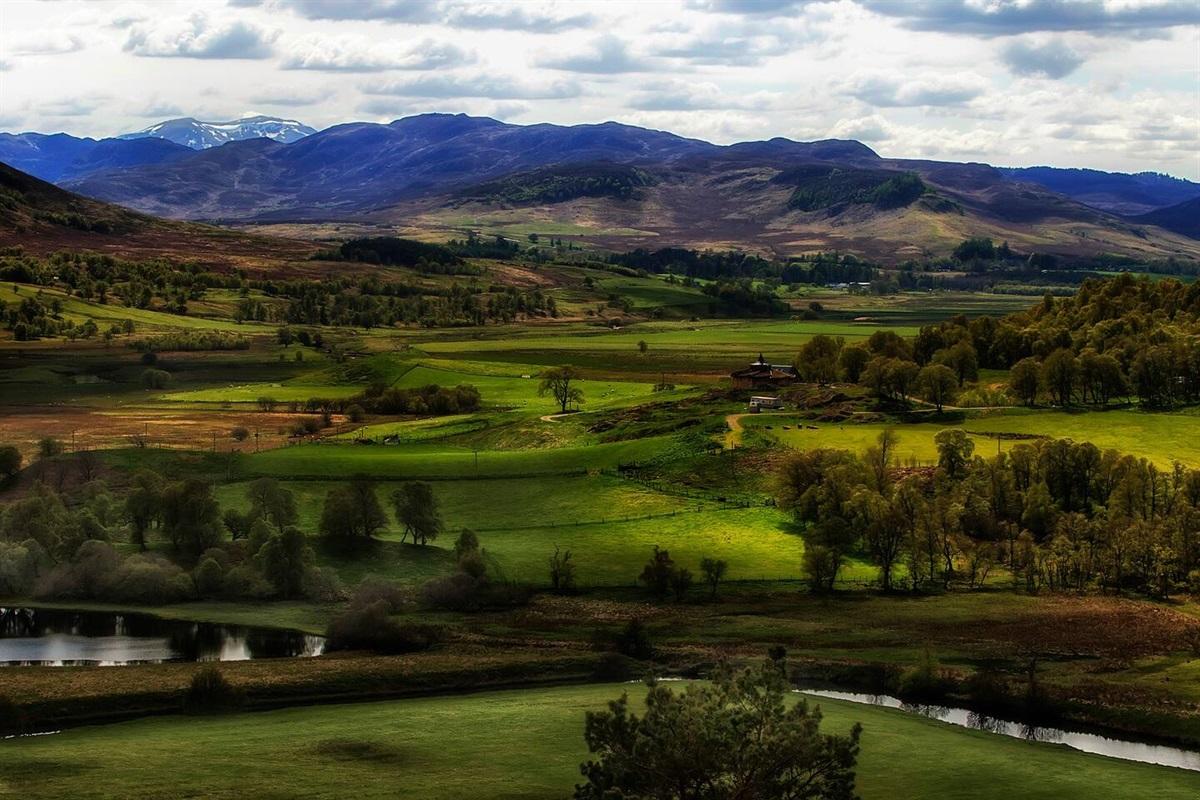 The river Spey from Glentruim Lodge.
