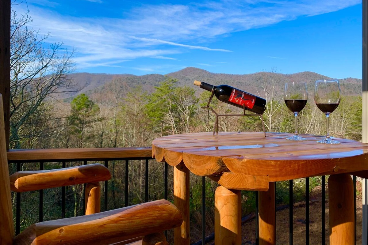 Enjoy a bottle of wine from one of the local wineries!