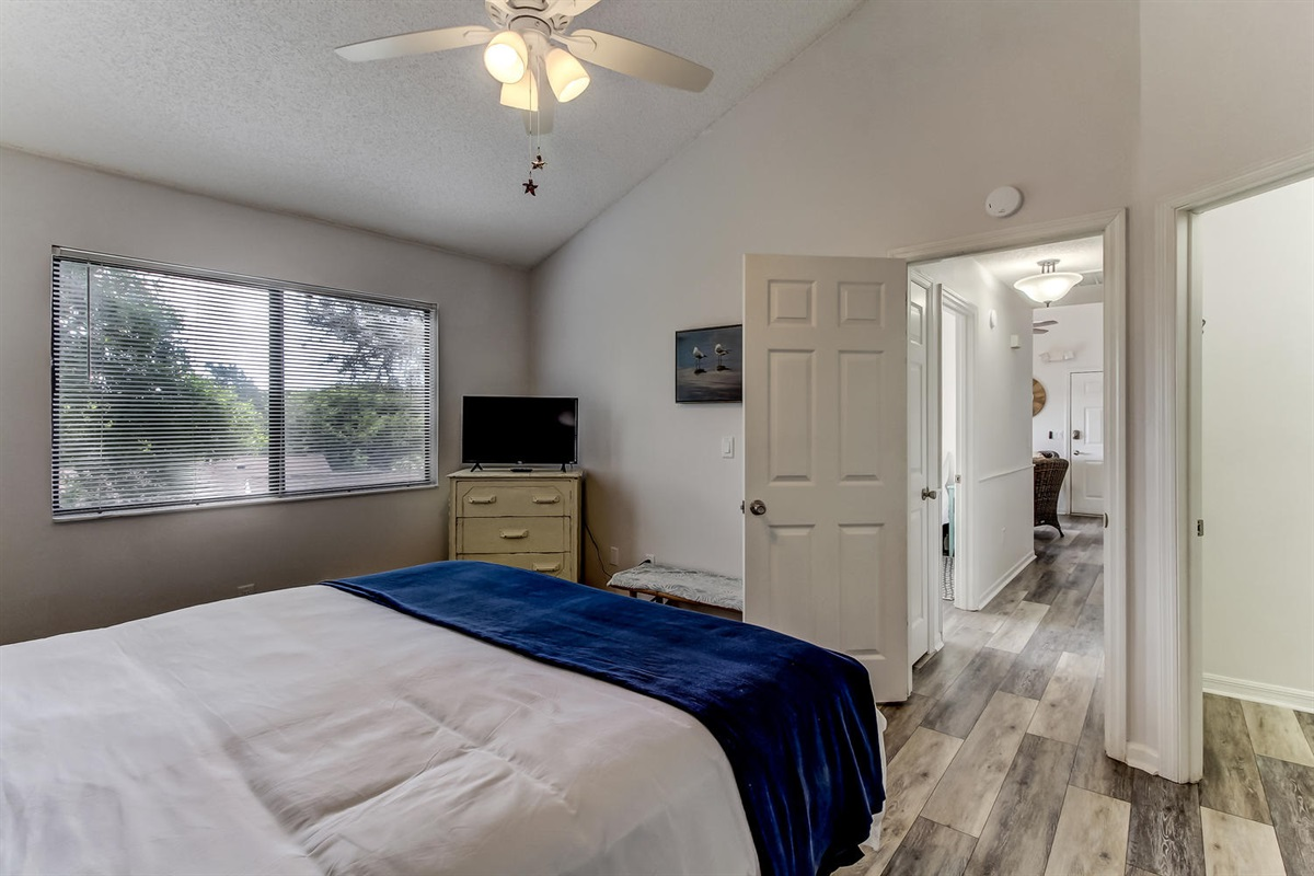 King Bedroom - Amelia Island Vacation