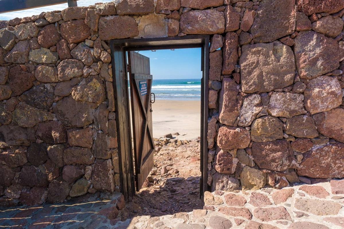 Beach Access Door
