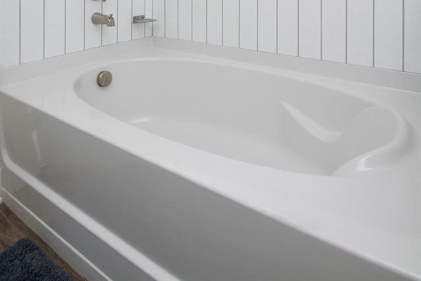 Relax after a long day in your own soak tub!