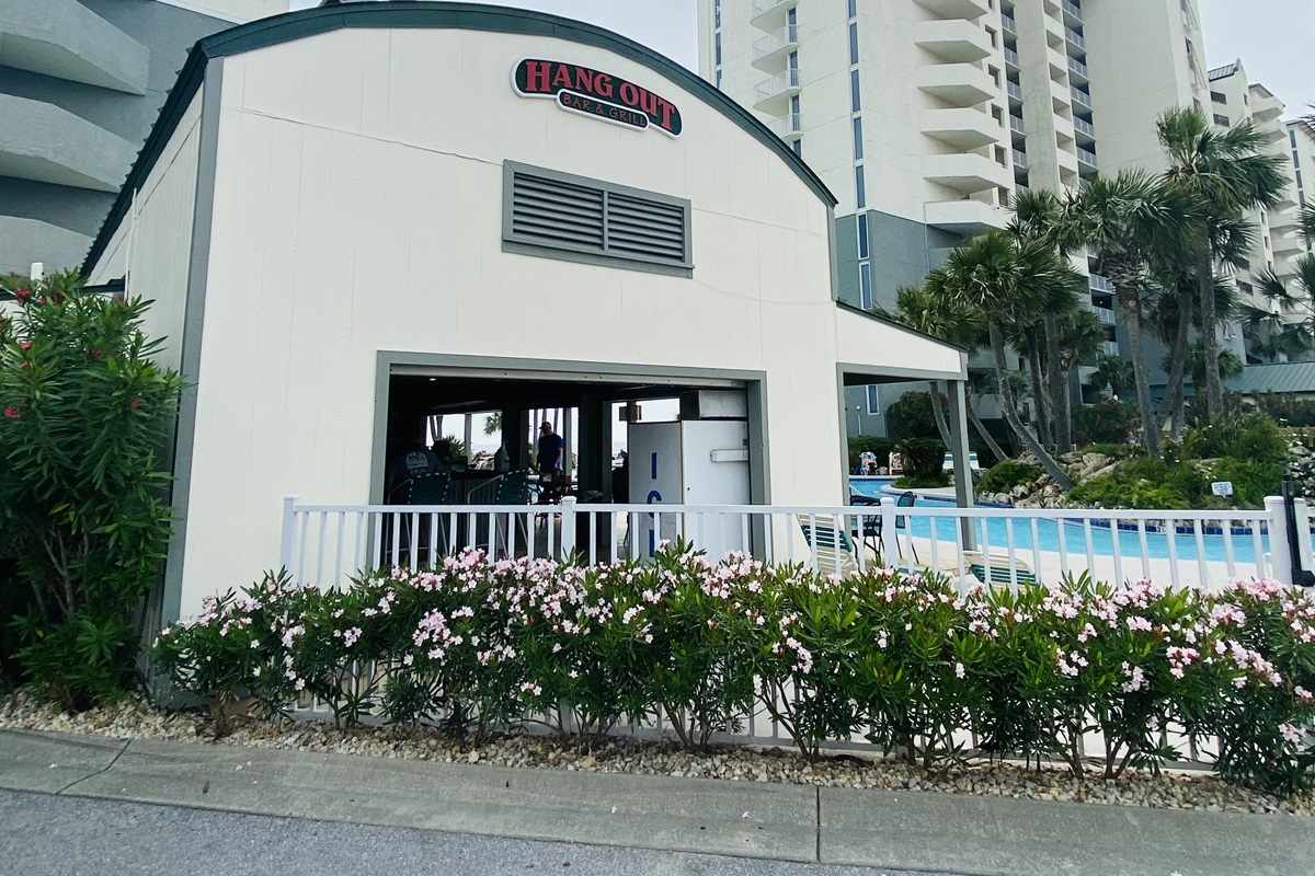 Hangout bar right around corner from your condo