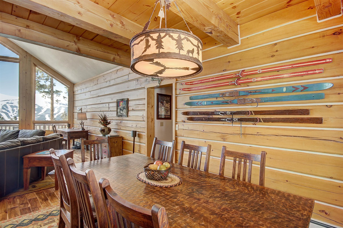 Dining is open to great room