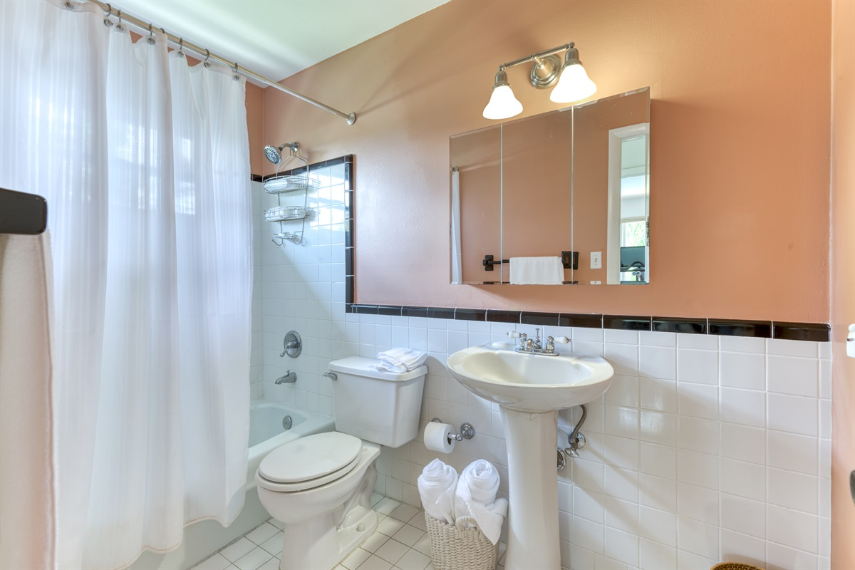 Upstairs Bathroom with combo/shower