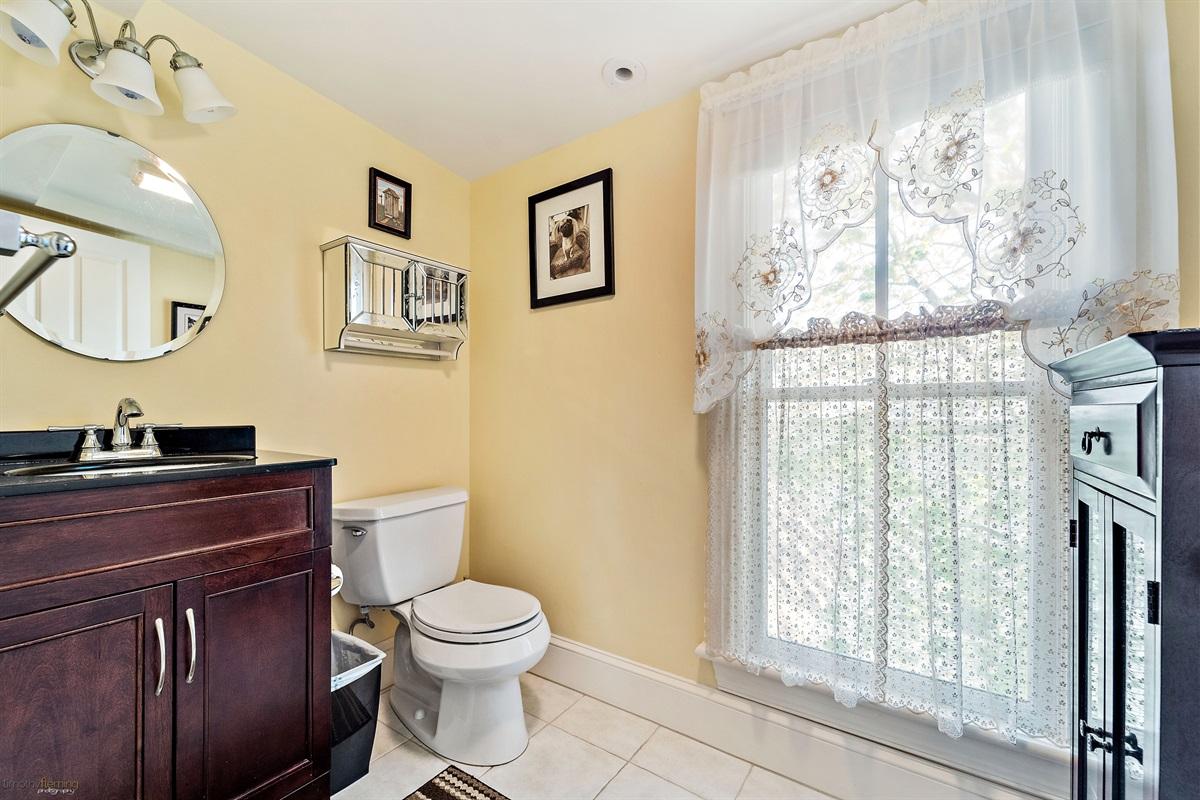 3rd Floor-half bath