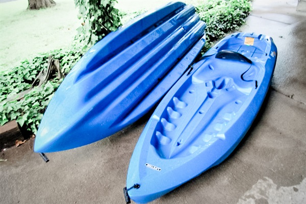 Kayaks ready for YOU