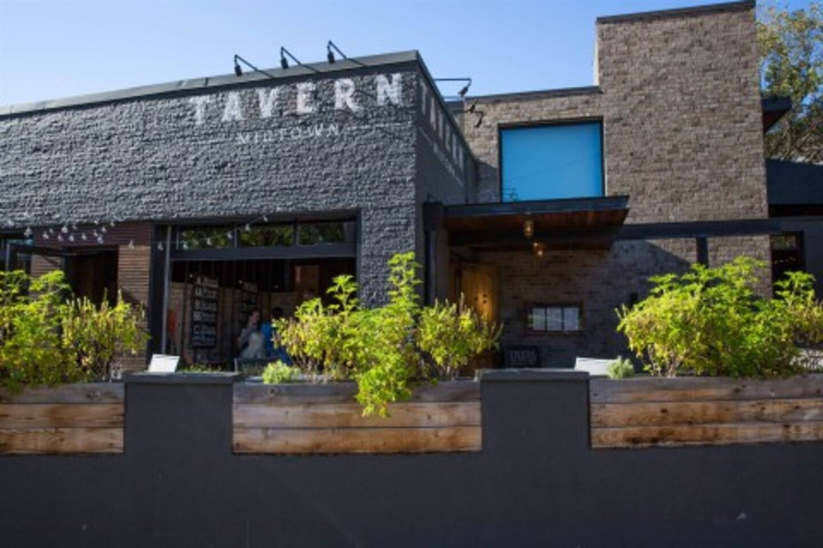 1 mile walk to dozens of bars and restaurants in Midtown.  Some of our favorites are Winner's, Loser's,  Tavern, and Red Door!
