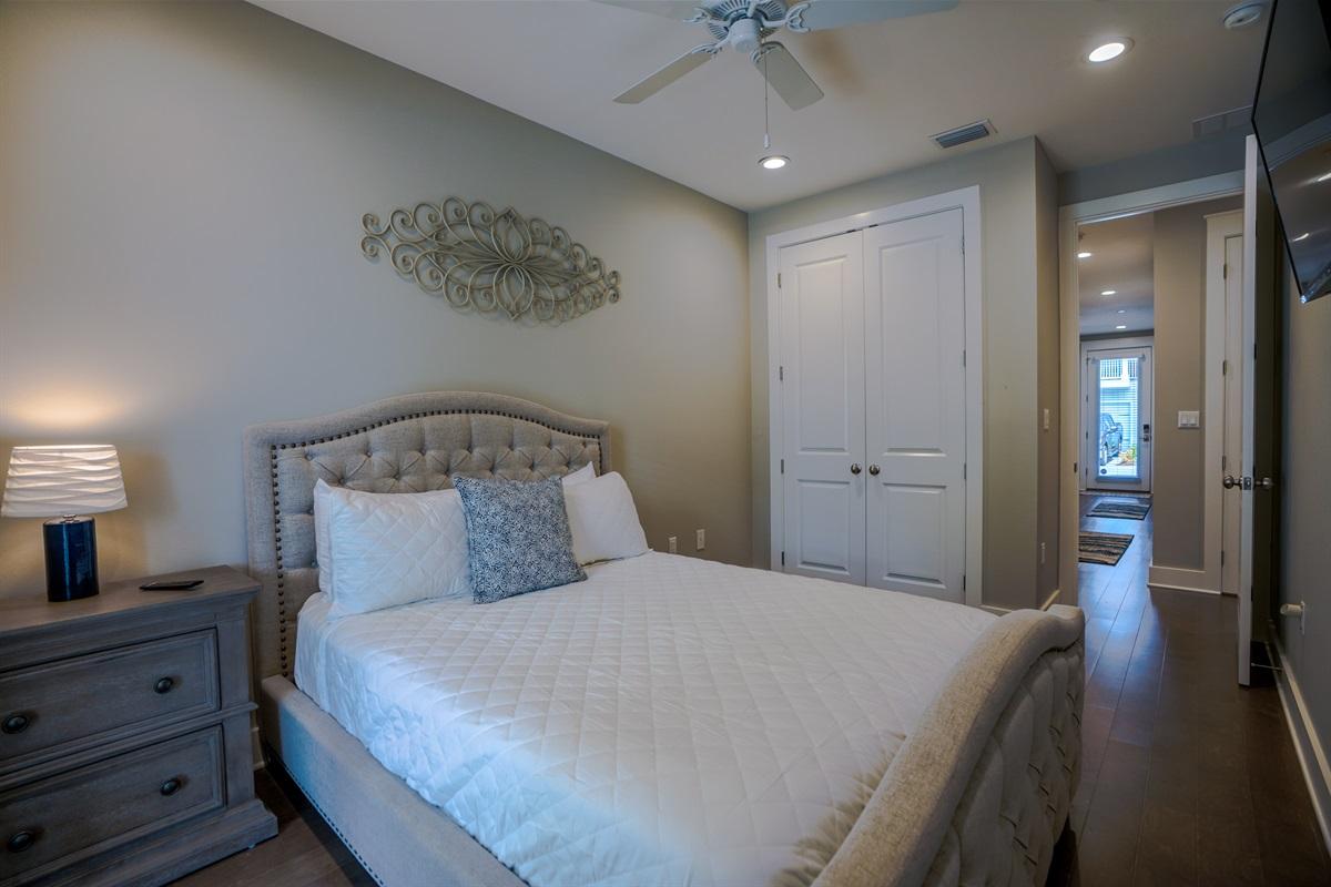 First Floor Queen Bedroom