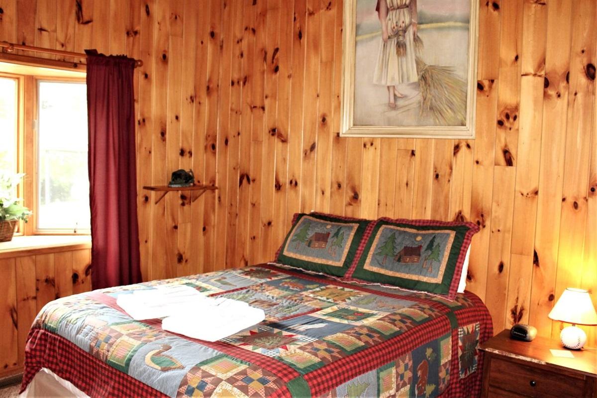 Bedroom #3 - queen bed, downstairs