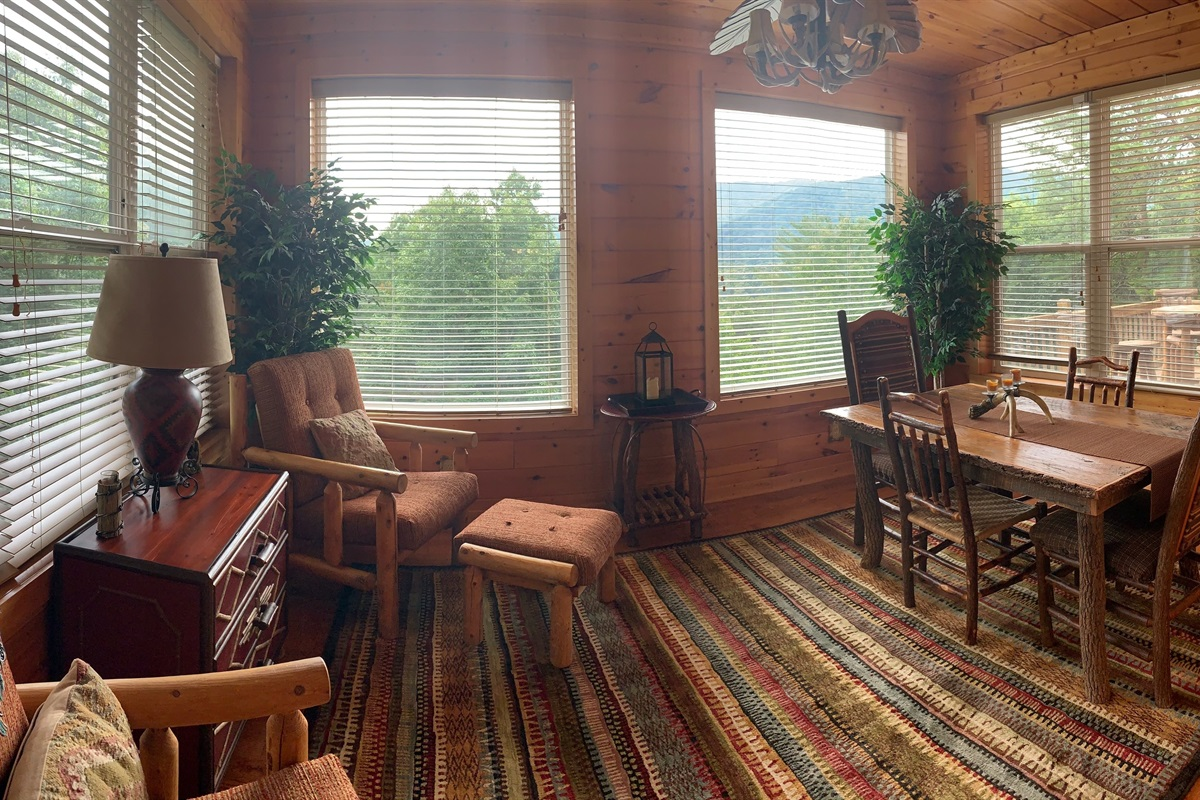 Beautiful Views from the Dining Room