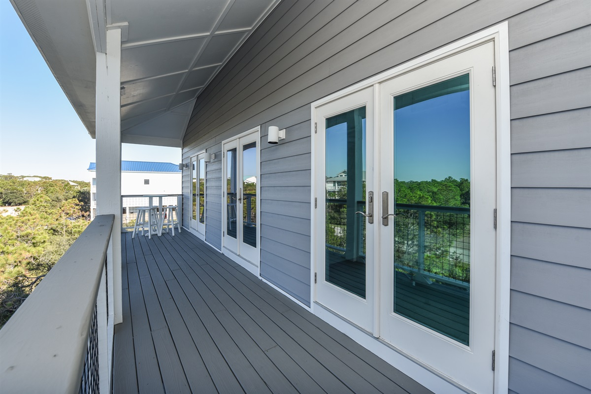 North side deck