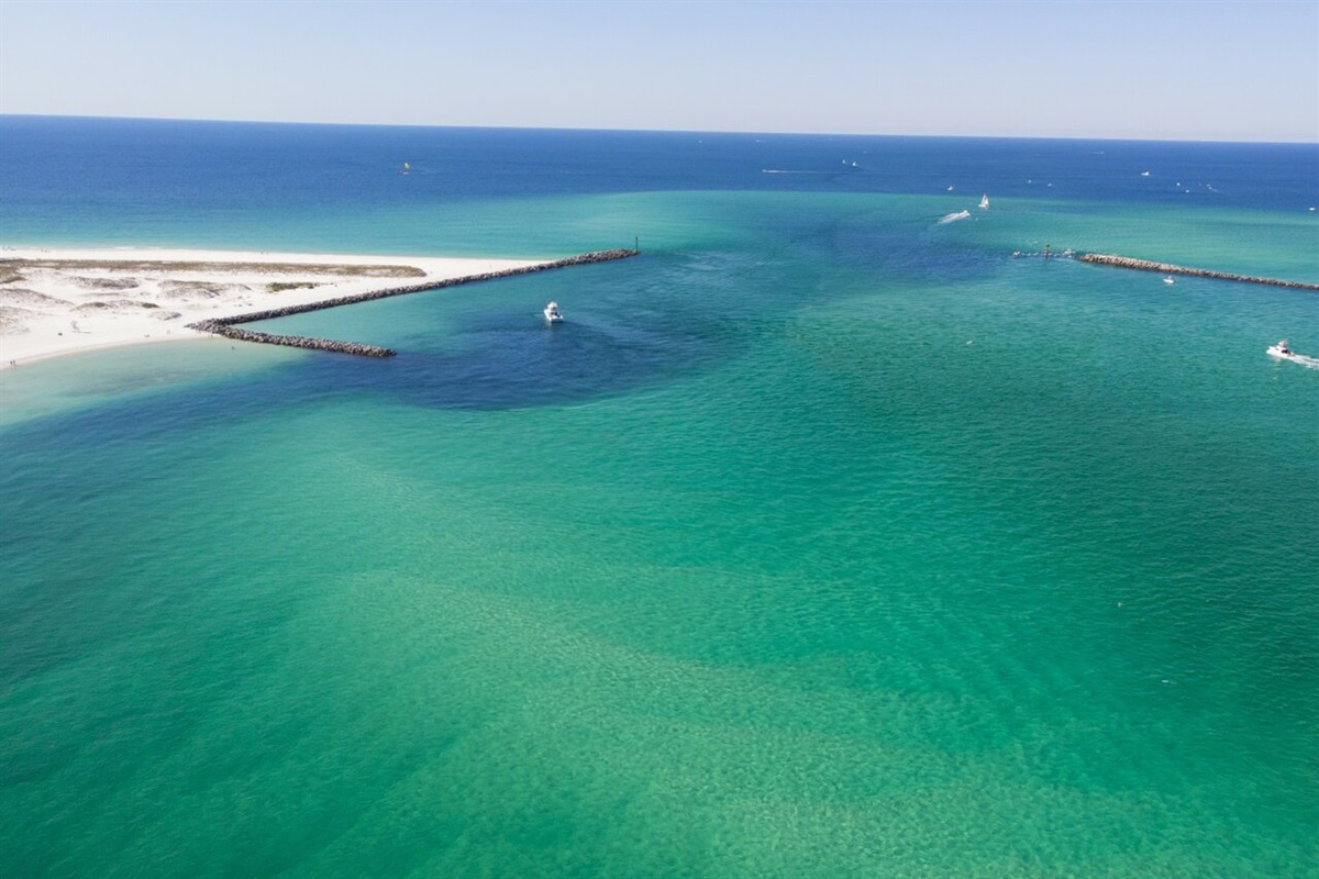 The Jetties at O'Steen Trail Beach and East Pass