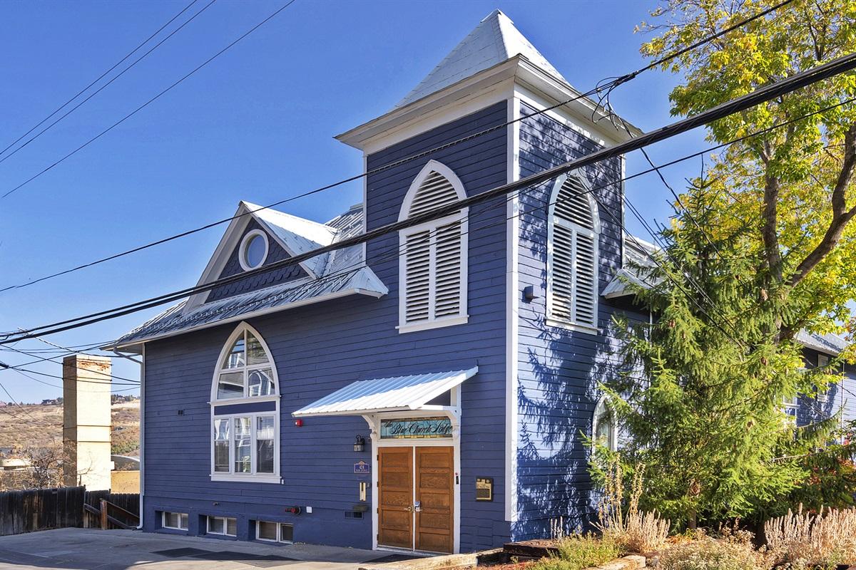 Blue Church - Old Town
