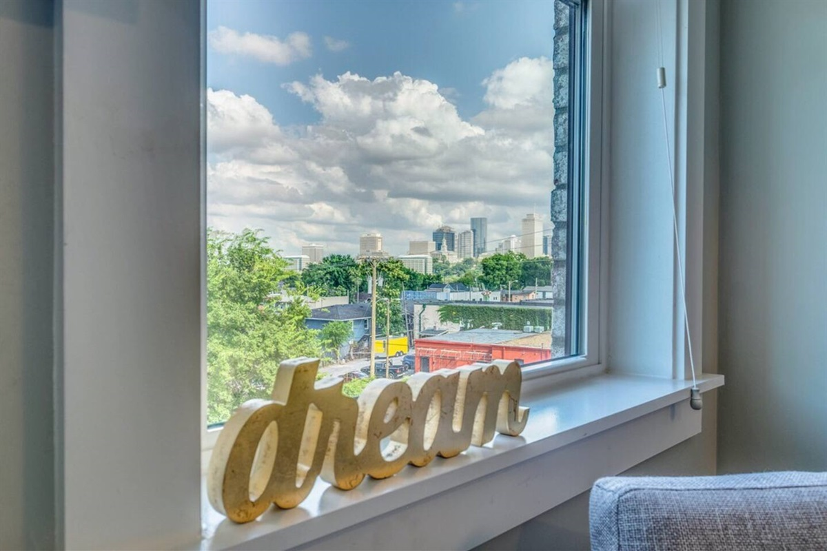 Dreaming of catching those skyline views