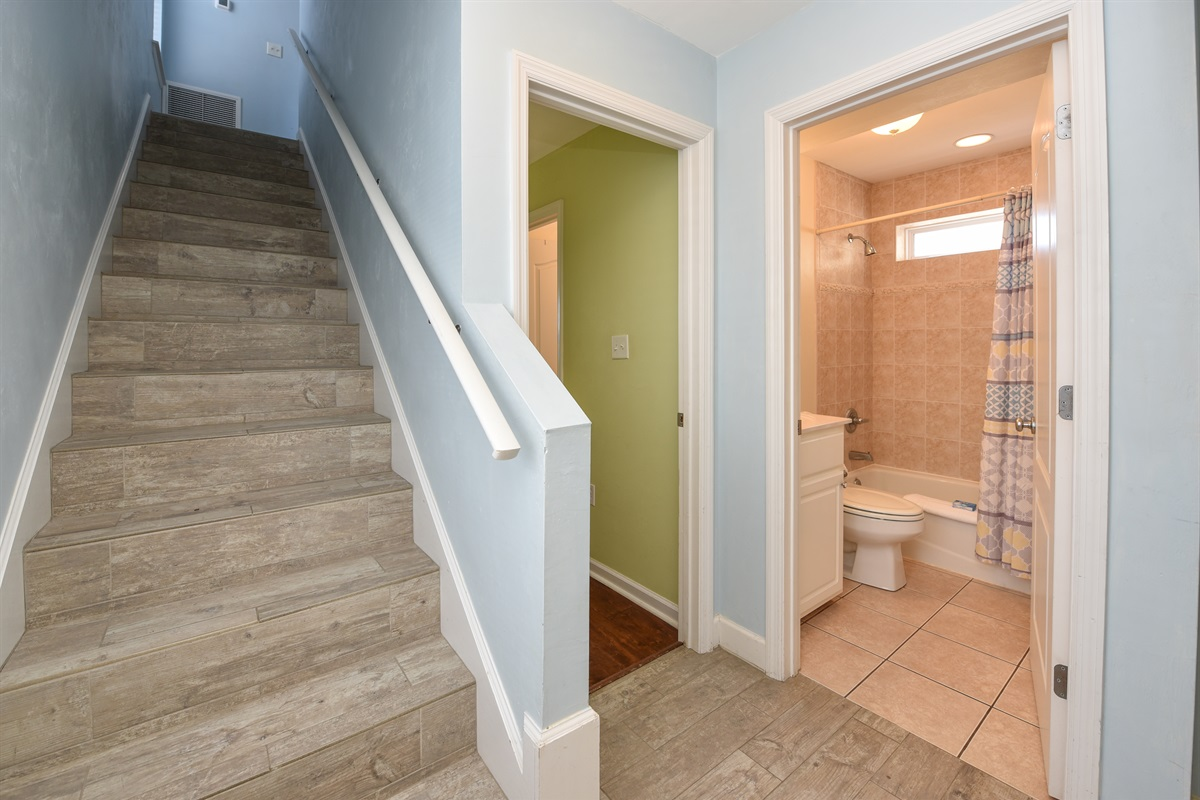 Stairs to Kitchen level