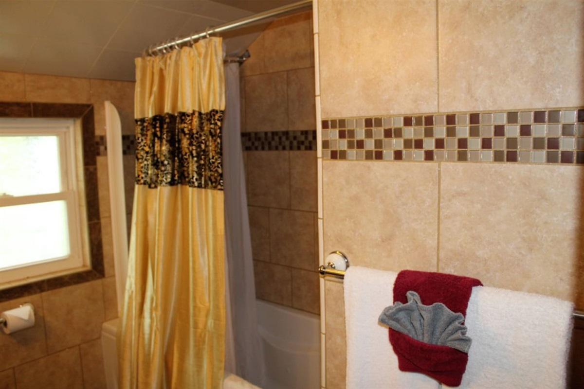 Bonus bathroom #5 with jacuzzi bathtub