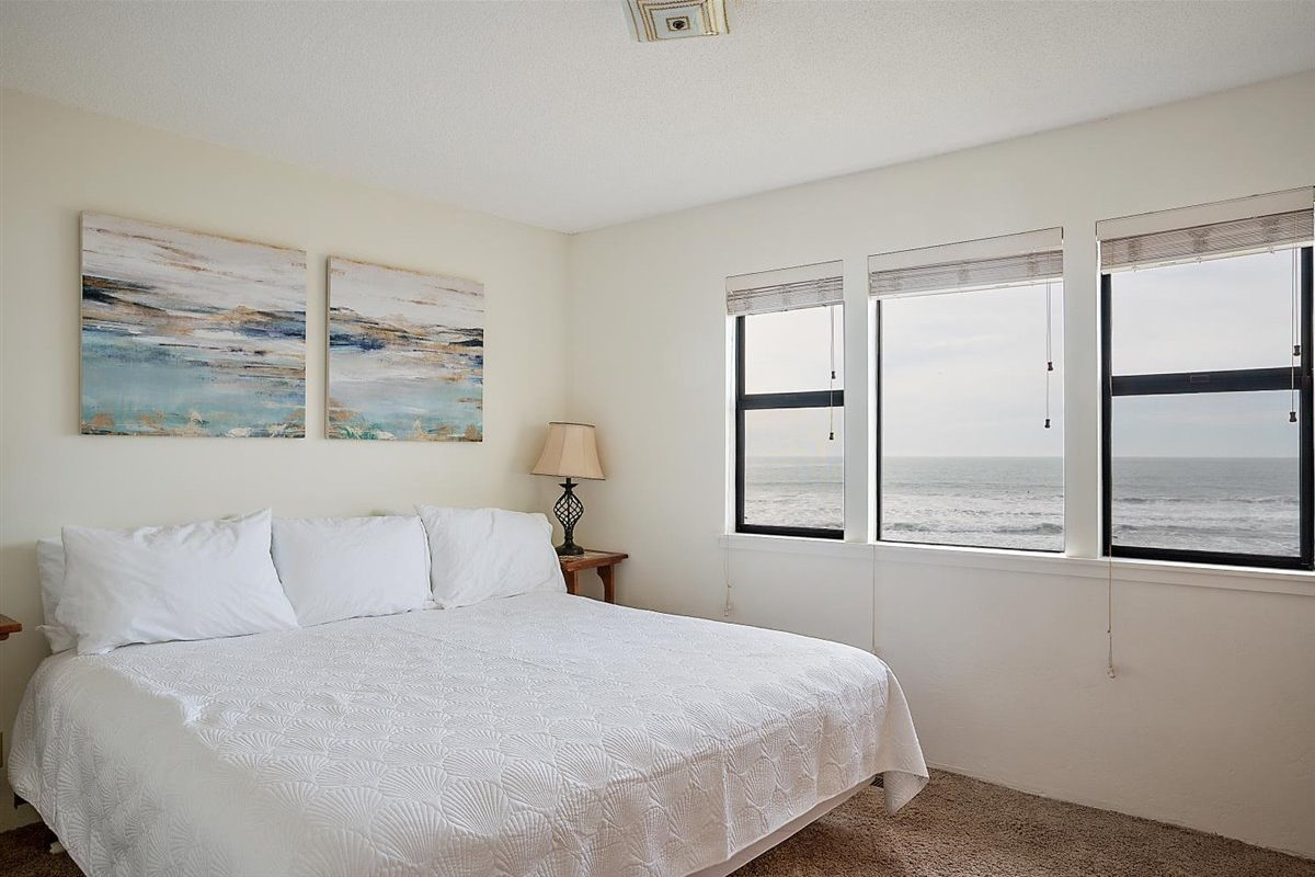 bedroom 1 with views