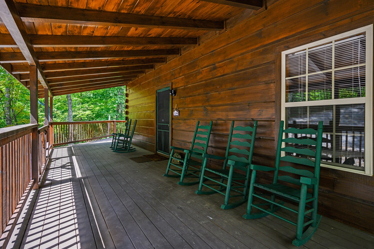 Front Porches are made for Relaxing!