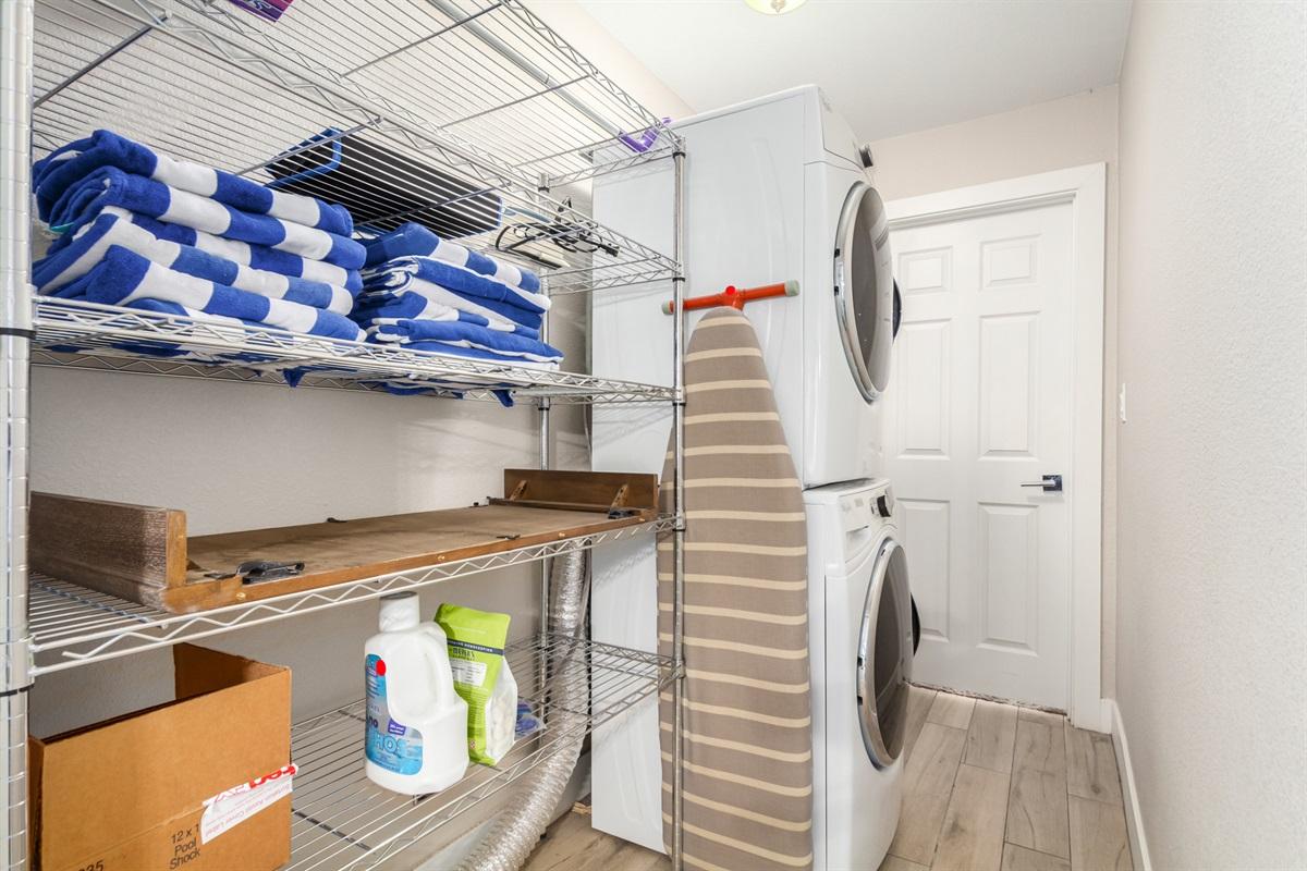 interior laundry room