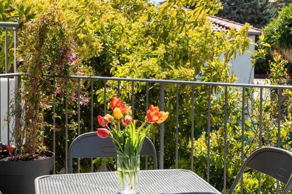 Relax on your private deck