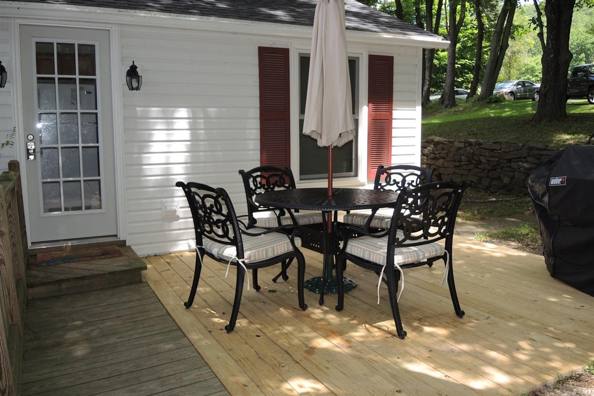 Wide Waterview - new deck