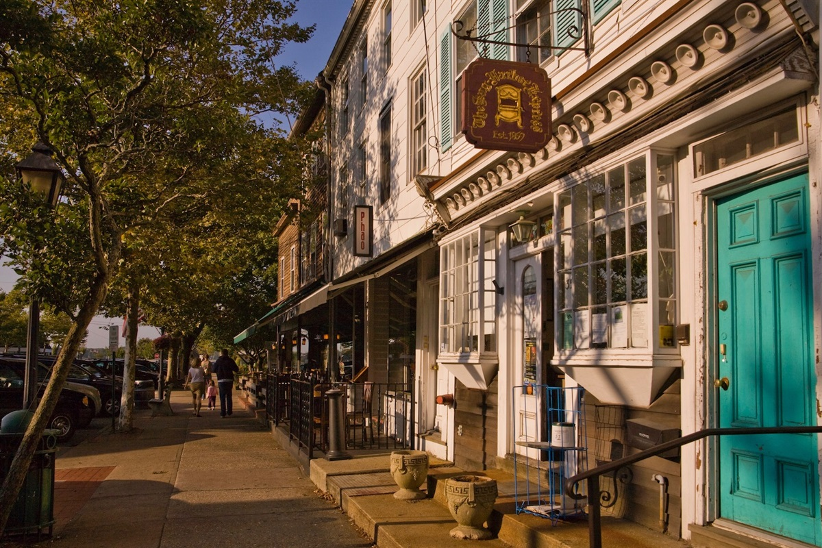 Sag Harbor is one of the best stops in the Hamptons for vintage shopping and antiquing.