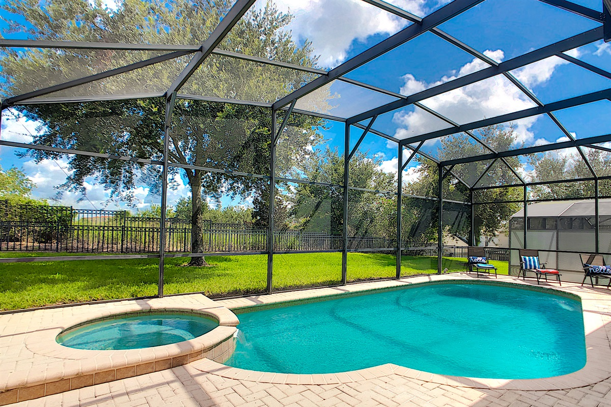 Heated Pool And Spa - No Backyard Neighbors