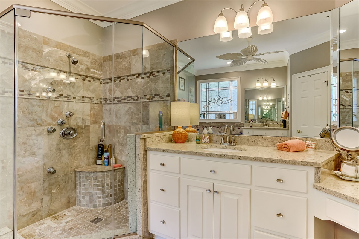Plenty of Room in This Master Bathroom