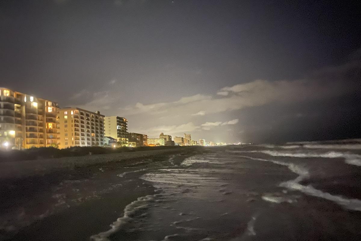 Nighttime on the Beach