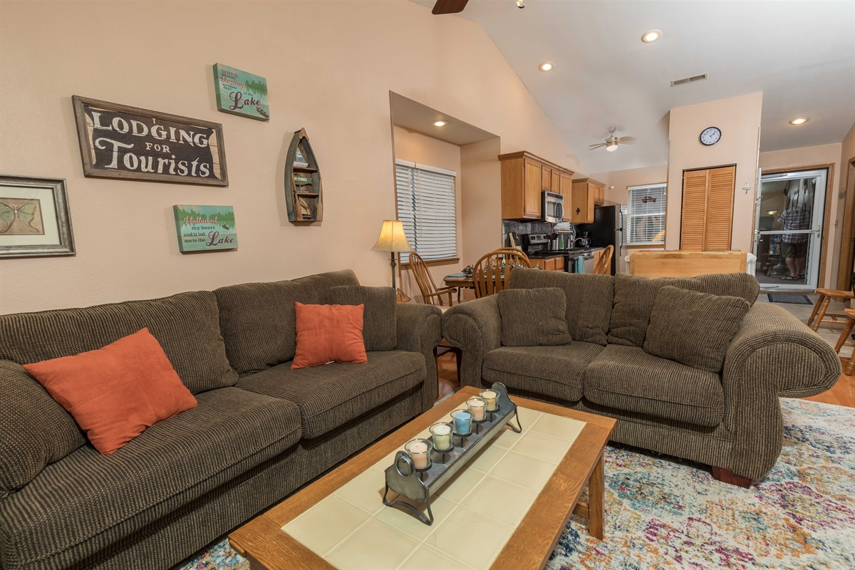 You'll be right at home in our cozy, comfy condo!