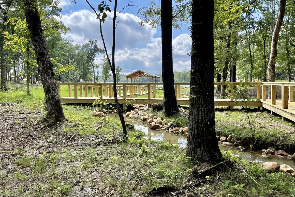 Community Pavilion & Dock