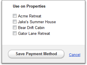 check use on properties fields