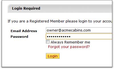 vrwd login page