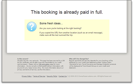 payments guest form paid in full