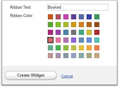 widgets calendar edit form